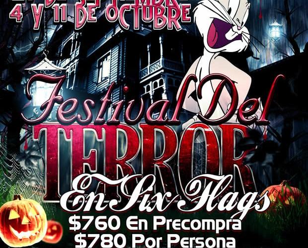 #Excursión Al Festival Del #Terror De #SixFlags Este 27 De Septiembre, 4 y 11 De Octubre Saliendo De #Veracruz o #Xalapa