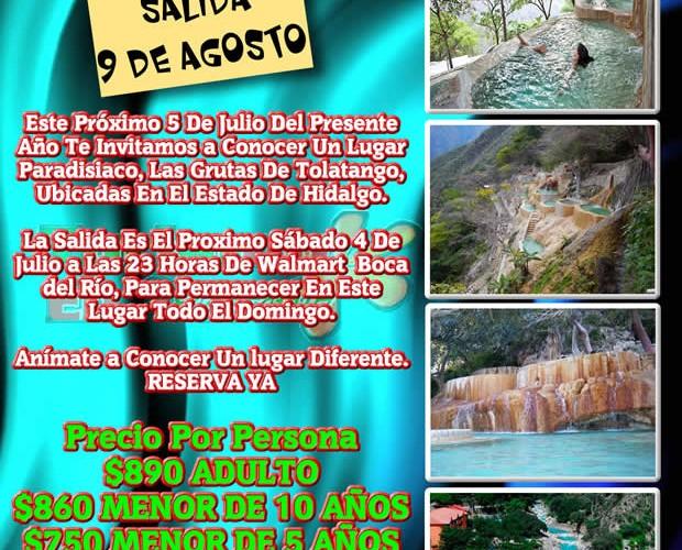 #Excursión a Las Grutas De #Tolatango #Hidlago Saliendo De #Veracruz