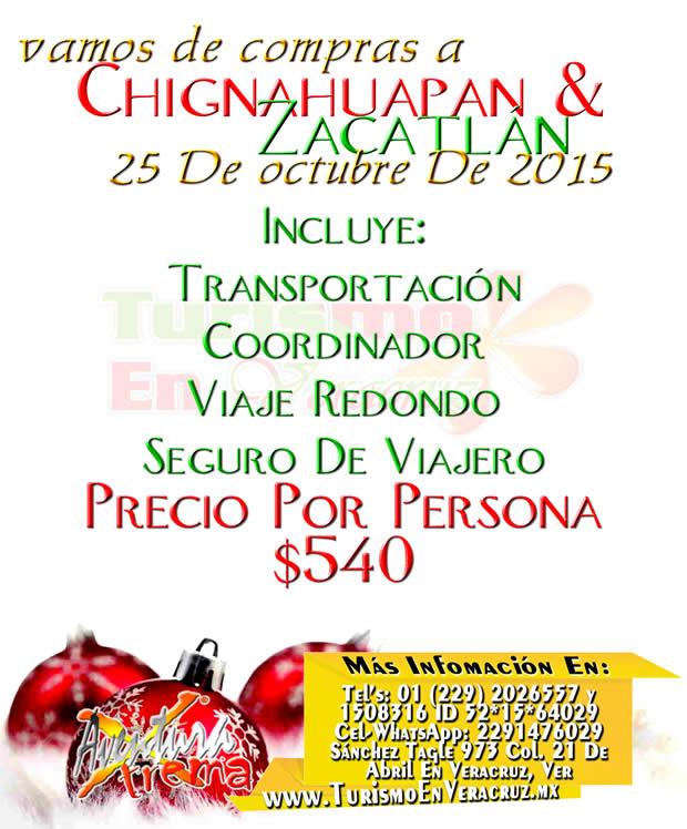 Vamos De #Compras a #Chignahuapan  y  #Zacatlán Este 25 De Octubre