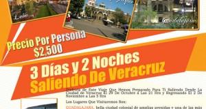3 Días y 2 Noches En #Guadalajara Saliendo De #Veracruz