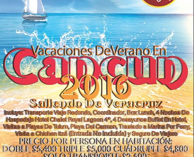 #Vacaciones De Verano En #Cancun Saliendo De Veracruz