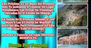 #Excursión En Mayo De 2016 a Las Grutas De #Tolantongo #Hidalgo