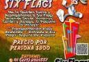 #Excursión a #SixFlags Este 17 de Julio Saliendo De #Veracruz y #Xalapa