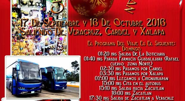 Vamos De #Compras a #Chignahuapan  y #Zacatlán Este 16 de Octubre 2016