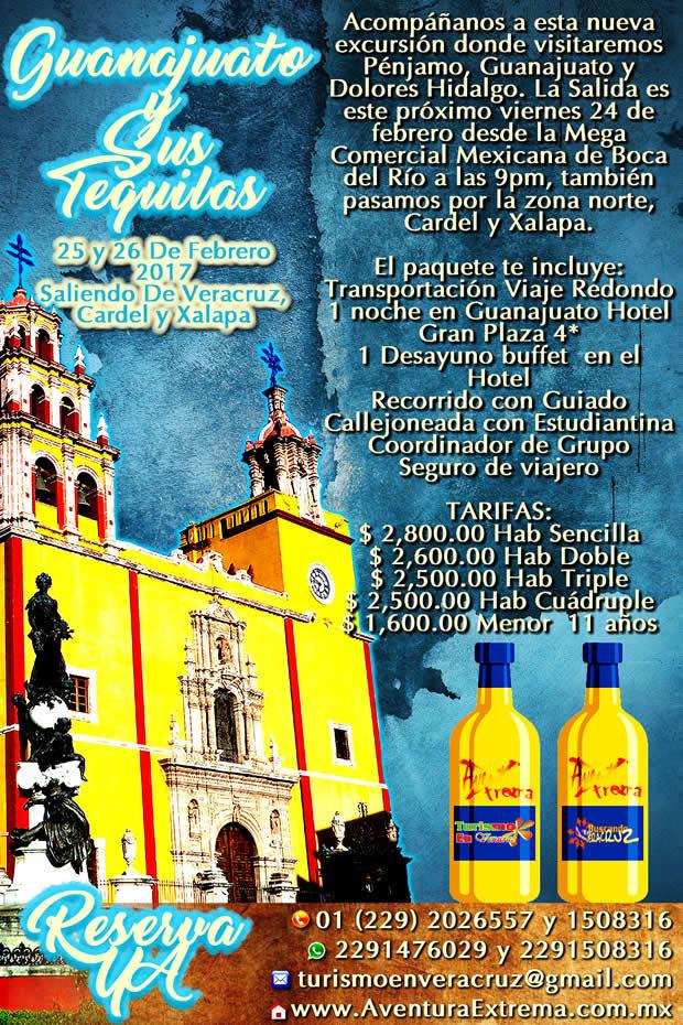 Excursión a Guanajuato, Pénjamo y Dolores Hidalgo Saliendo de Veracruz