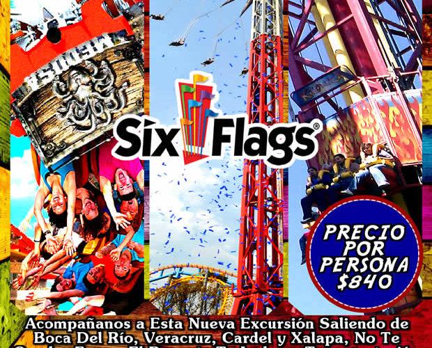 #Excursión a #SixFlags Este 5 De Febrero De 2017 Saliendo De #Veracruz y #Xalapa