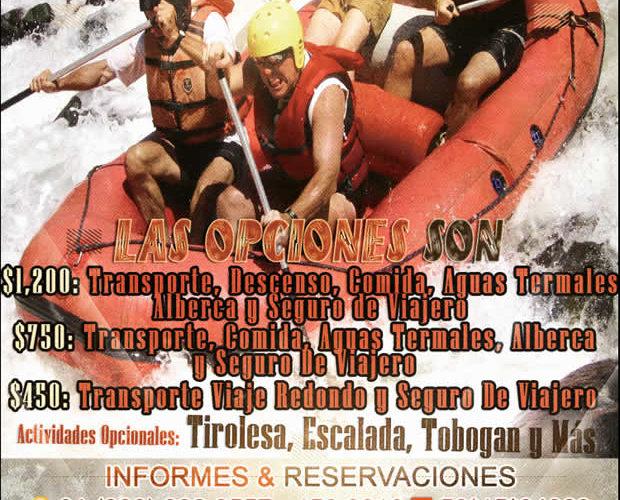 Vamos a #Carrizal Para Ir a Los #Rápidos y Las Aguas #Termales En Mayo 2017