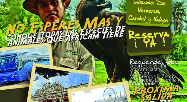 #Excursión a #AfricamSafari Este 20 de Agosto De 2017 Saliendo De #Veracruz y #Xalapa