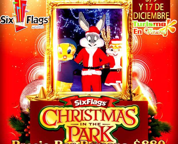 #Excursión a #SixFlags Christmas In The Park Este 3, 9 y 17 De Diciembre 2017
