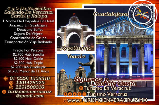 2 Días En #Guadalajara #Tonalá y #Tlaquepaque En Noviembre