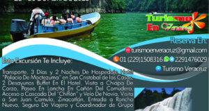 3 Días y 2 Noches En #Chiapas Saliendo de Veracruz Este 27 De Abril 2018