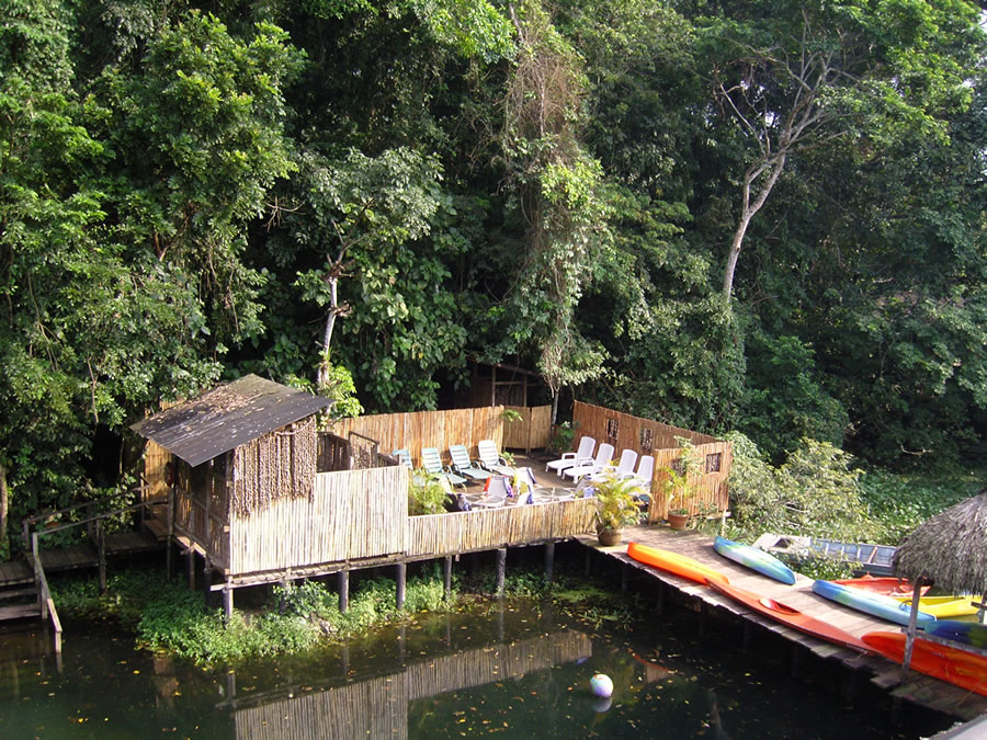 Cabañas En La Reserva Ecológica De Nanciyaga