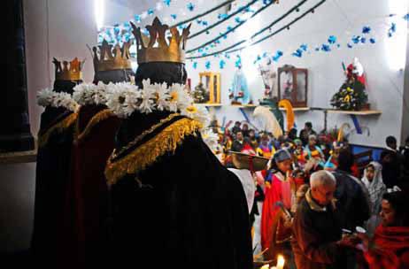 Fiesta Patronal De Los Santos Reyes En Veracruz