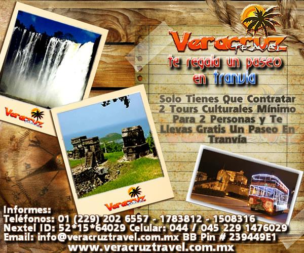 Pasea GRATIS En El Tranvía De Veracruz