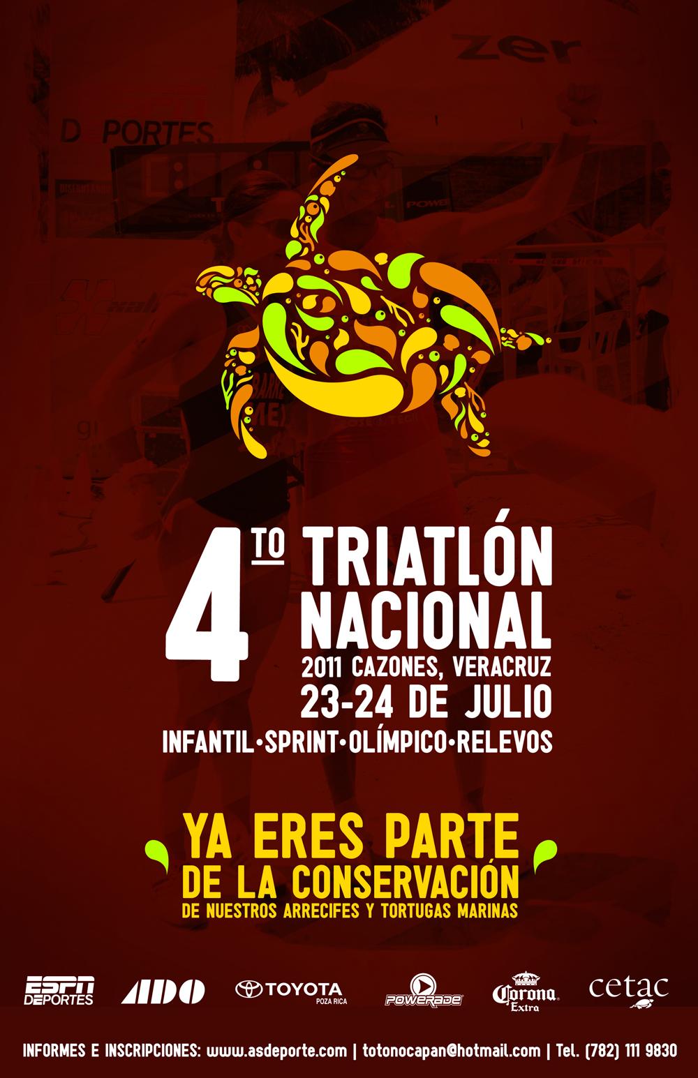 Cuarto Triatlón Cazones 2011
