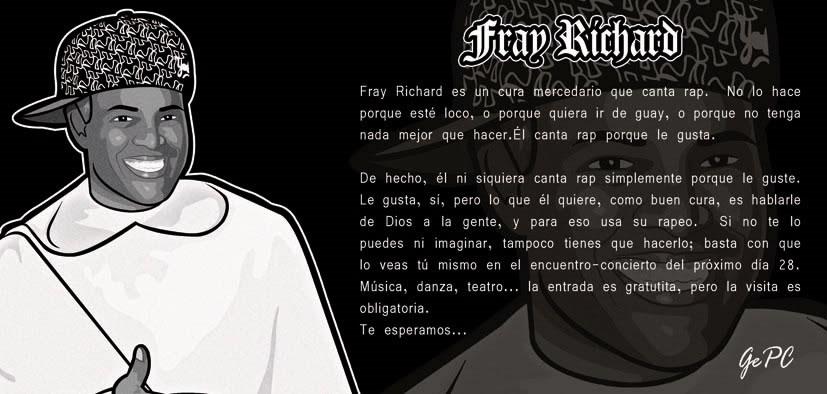 """Fray Richard, """"el rapero de Dios"""", viene a Veracruz"""