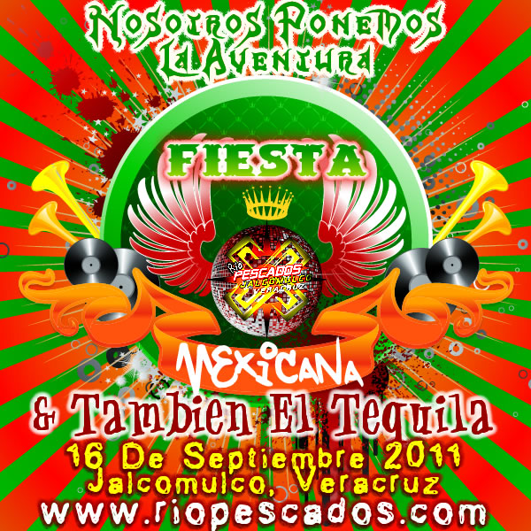 Fiesta Mexicana En Jalcomulco & Tequila Gratis.