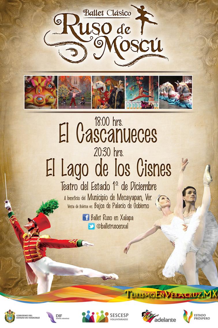 Ballet Ruso De Moscú En Xalapa