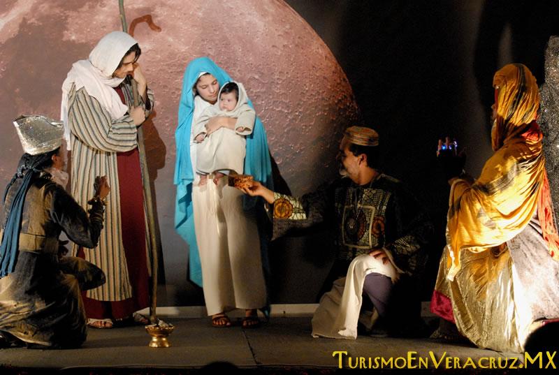Inicia temporada del Nacimiento Viviente en el Parque Bicentenario
