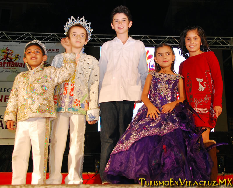 Veva y Tadeo, Reyes Infantiles Carnaval De Veracruz 2012