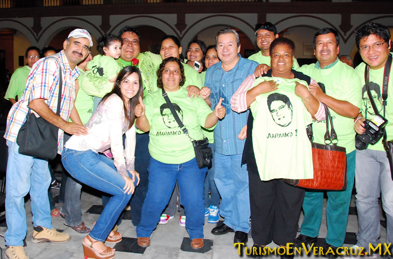 """""""Marmiko I"""", Rey de la Alegría del Carnaval de Veracruz 2012"""