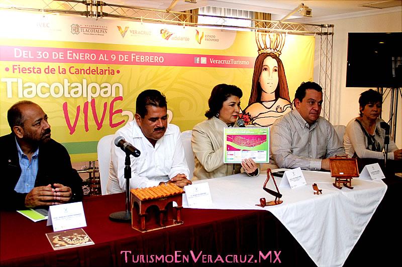 Anuncia Secturc la Fiesta de La Candelaria Tlacotalpan Vive 2012