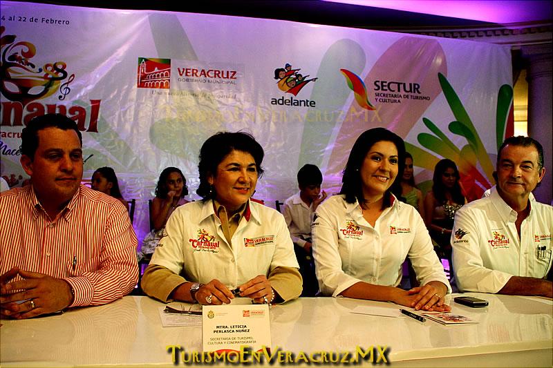 Artistas de talla internacional en el Carnaval de Veracruz 2012