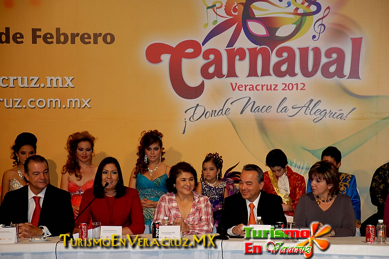 Carnaval de Veracruz 2012, el mejor de la historia: Secturc