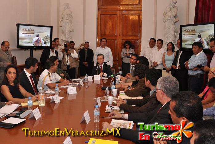 Afinan detalles para la Cumbre Tajín 2012