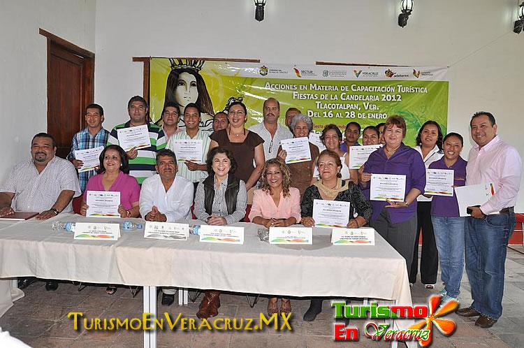 Capacitó Secturc a más de 200 prestadores de servicios para Tlacotalpan Vive 2012