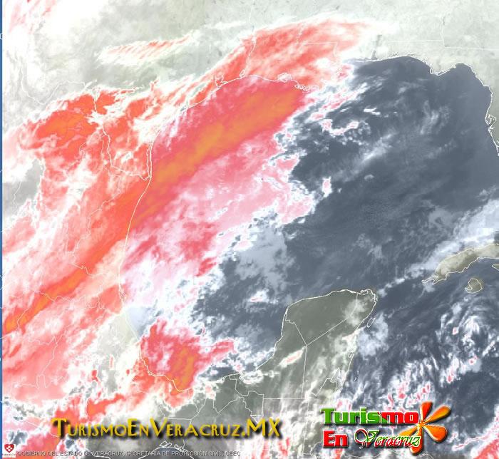 Cielo nublado y lluvias en la mayor parte del estado: SPC