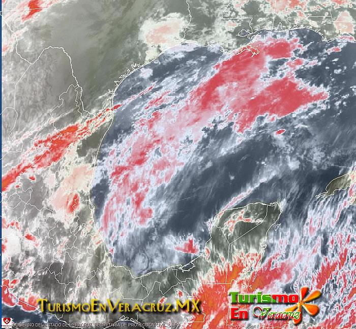 Disminuyen lluvias y nublados en territorio veracruzano: SPC