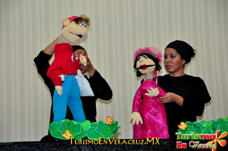 Función de títeres abarrota Museo de la Ciudad de Veracruz.