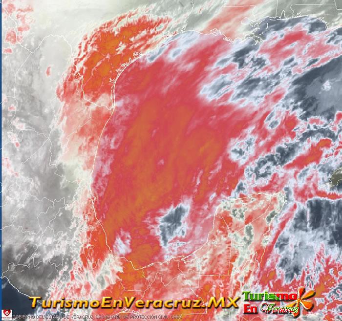 Continúan nublados y lluvias en el estado por frente frío 31: SPC