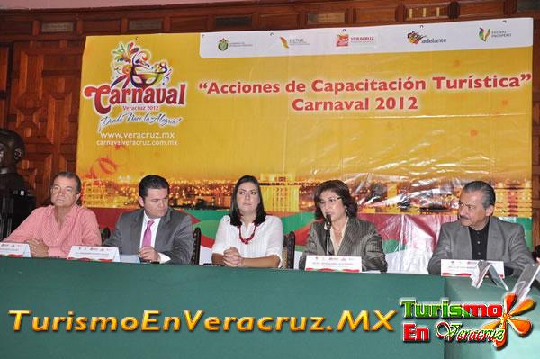 Concluye Secturc cursos de capacitación previos al Carnaval de Veracruz
