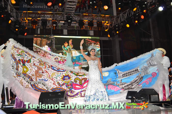 Yarizeth I, Reina del Carnaval de Veracruz 2012