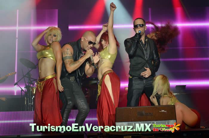 Wisin & Yandel En Espectacular Concierto En El Carnaval De Veracruz
