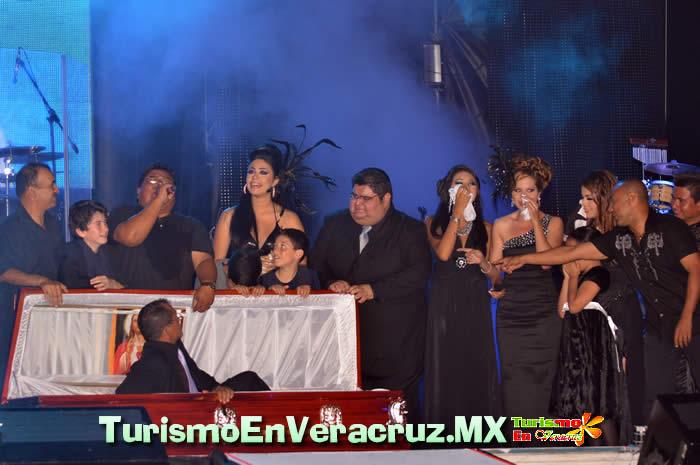 Entierro de Juan Carnaval y Concierto De Enrique Iglesias En El Carnaval de Veracruz 2012
