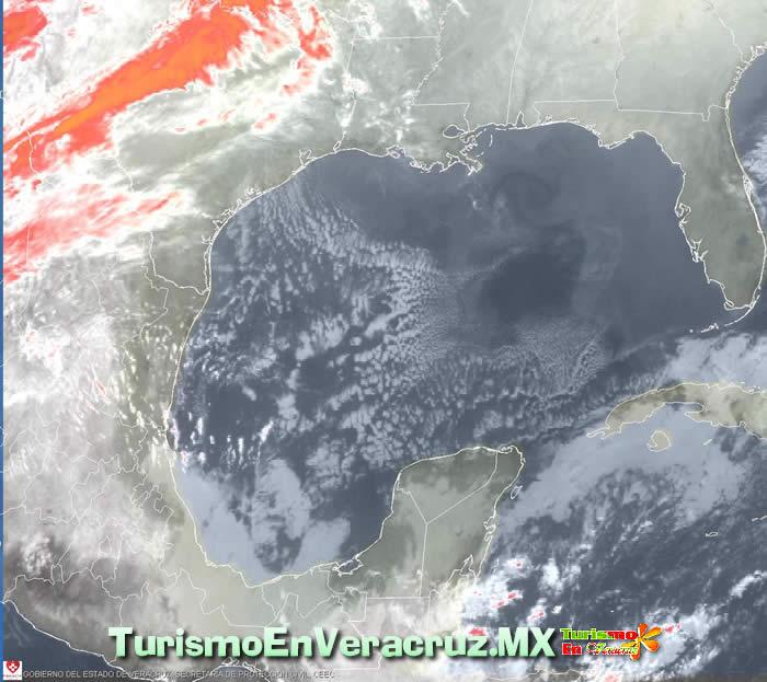 Se espera un cielo despejado y soleado en Veracruz