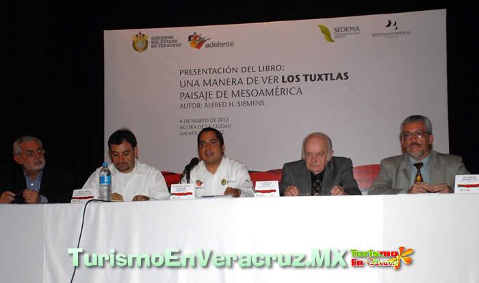 Presentan el libro Una manera de ver Los Tuxtlas, paisaje de Mesoamérica
