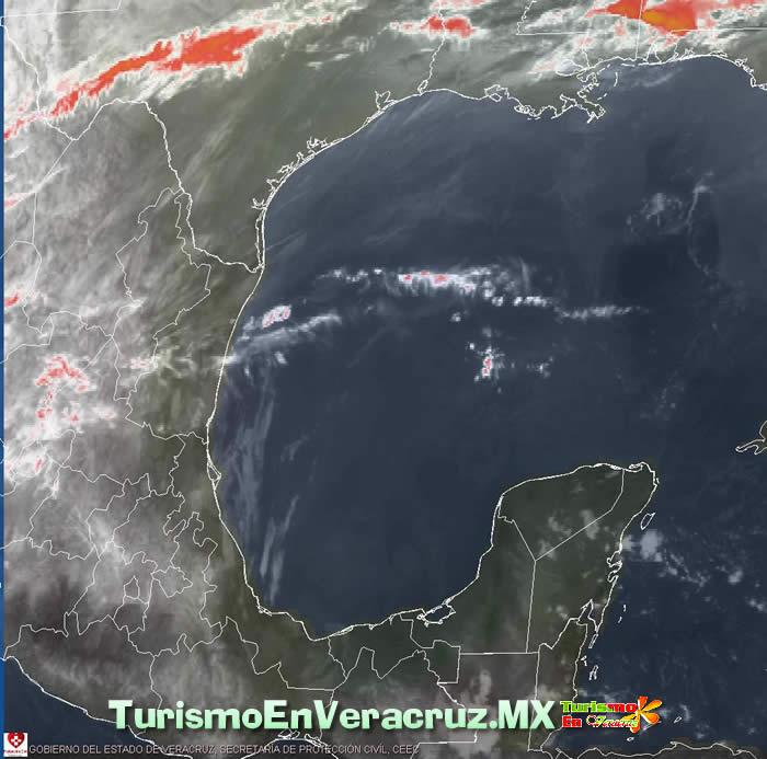Persiste ambiente cálido y seco en gran parte de la entidad Veracruzana