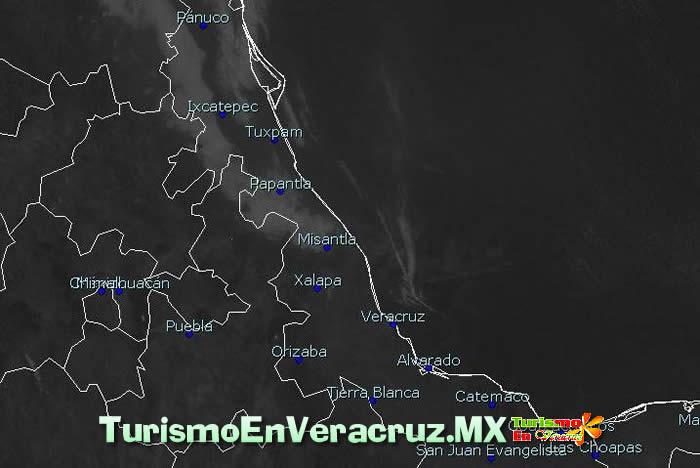 La surada persistirá en la región de Orizaba – Córdoba
