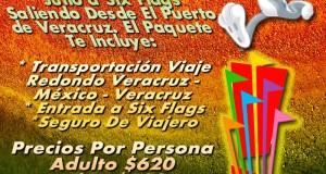 Vamos a Six Flags Este 8 De Julio De 2012