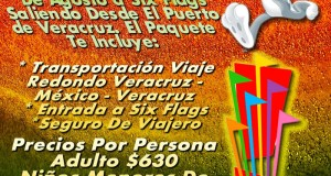 Vamos a Six Flags Este 18 De Agosto De 2012