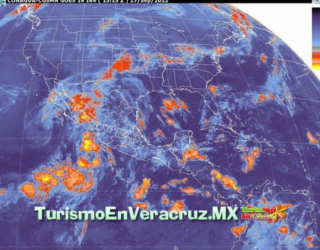 Disminuye potencial de lluvias en el estado de Veracruz: SPC