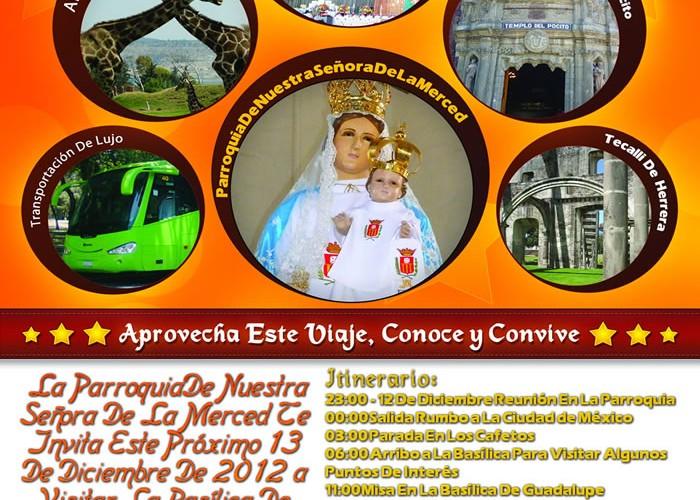 Acompáñanos a La Basílica Este 13 De Diciembre 2012