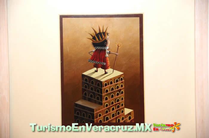 """Presenta Museo de la Ciudad de Veracruz exposición """"El Cuaderno de las Pesadillas"""" del artista Israel Barrón"""