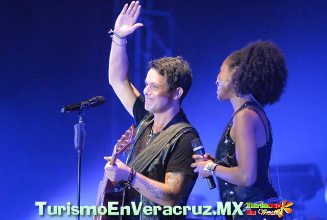 Vuelve Alejandro Sanz a Veracruz