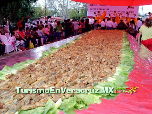 Romperá Coyolillo Récord Guinness del chile relleno más grande del mundo