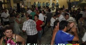 Gran ambiente en bailes populares del Zócalo y Plazuela de la Campana